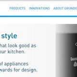 A new responsive website for Grundig in 3 weeks - no problem!