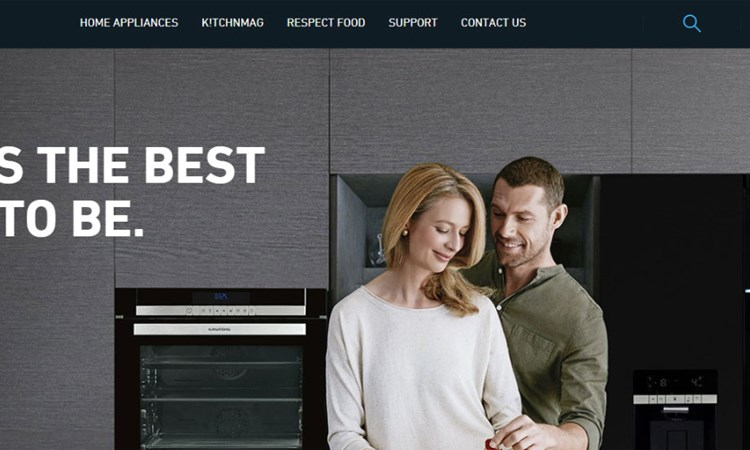 A new site for Grundig